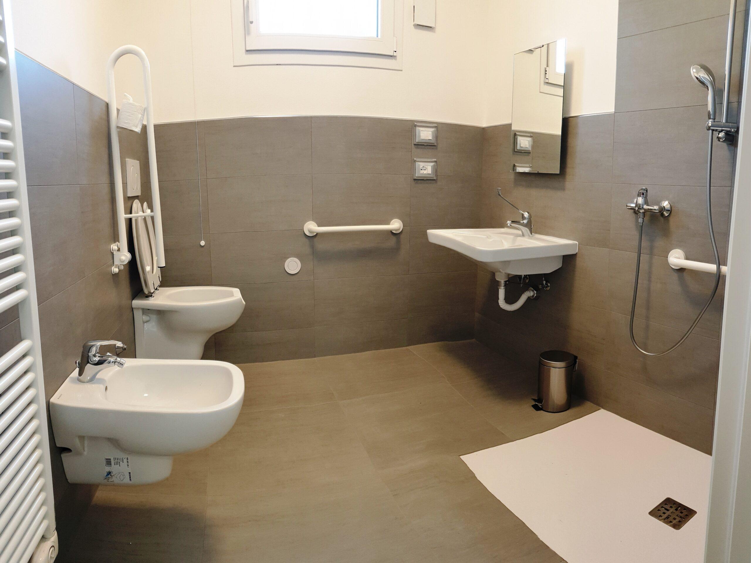 vista di un bagno